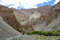 Trail to the GangaLa Base Camp in Ladakh